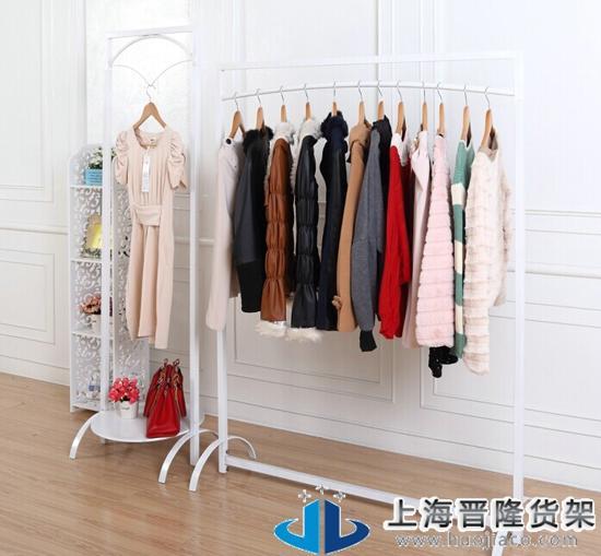 不易氧化,可以根据客户需求制定不同类型的风格样式,超市服装货架结构