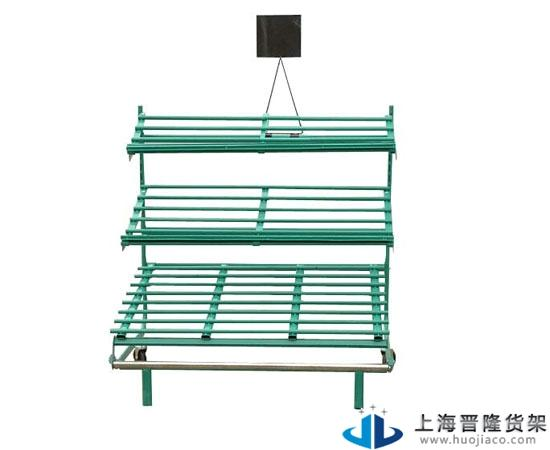 上海晋隆铁质水果货架厂家制作