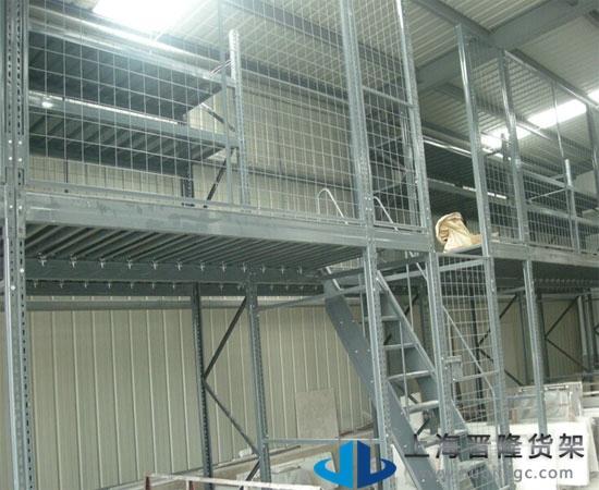 上海松江小型阁楼货架厂家批发