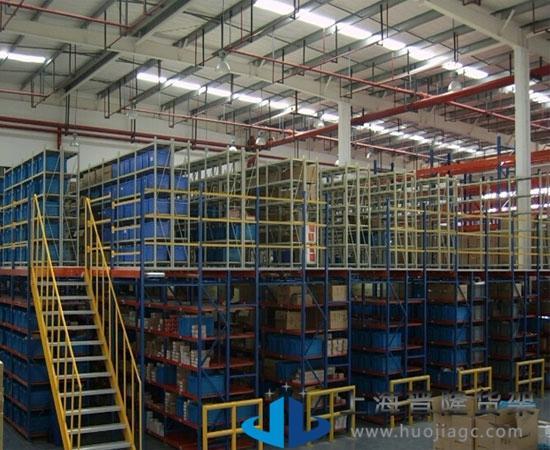 上海晋隆货架-1997年开始专业专用重型阁楼货架定制