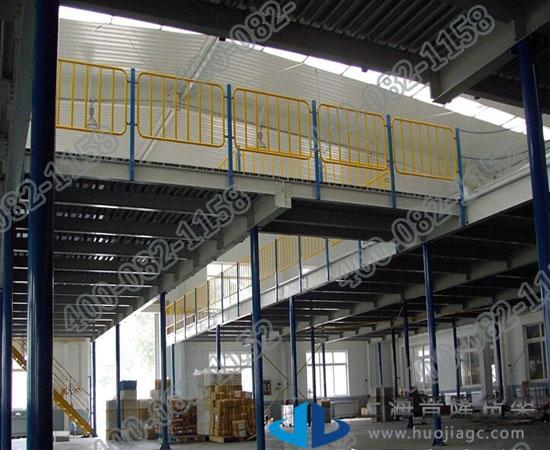 上海标准中型阁楼货架各种款式类型图片大全