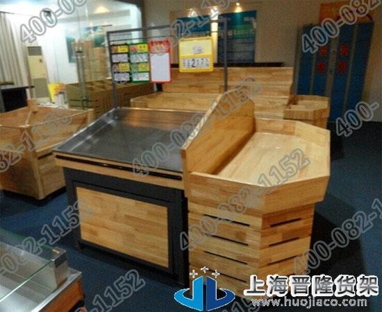 上海木质水果超市货架最新产品制作图片