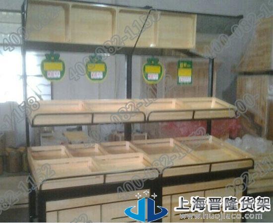 上海全木质水果超市货架各种款式图片