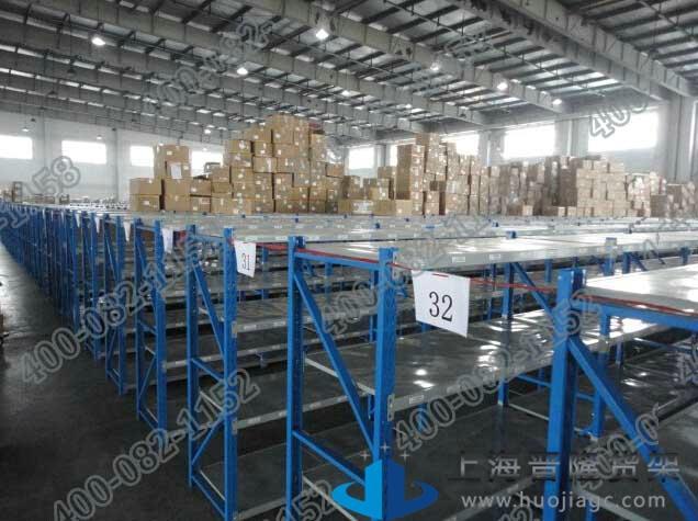 上海物流库房货架可定做最新款图片