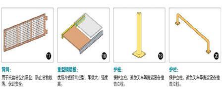 闵行仓储货架零部件图片