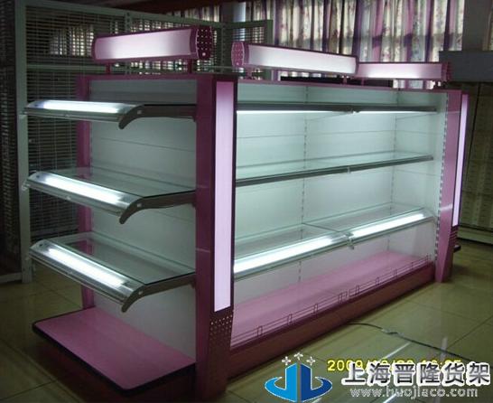 玻璃层板化妆品货架