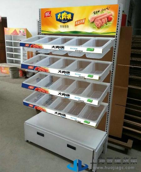 散装休闲食品货架