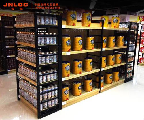 进口食品超市货架